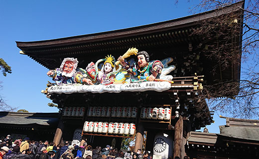 寒川神社節分祭に