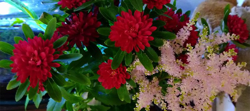 命日のお花